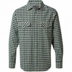 Mens Kiwi Long Sleeve Check Shirt
