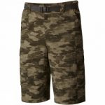 Mens Silver Ridge Printed Cargo Shorts