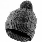 Waterproof Cable Knit Bobble Hat