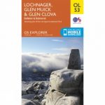 Explorer Map OL53 Lochnagar, Glen Muick and Glen Clova