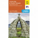 Explorer Map OL54 Glen Esk and Glen Tanar