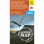 Active Explorer Map OL12 Brecon Beacons National Park – Western Area