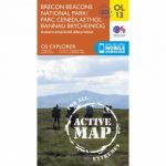 Active Explorer Map OL13 Brecon Beacons National Park – Eastern Area