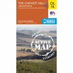 Active Explorer Map OL16 The Cheviot Hills