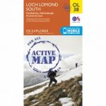 Active Explorer Map OL38 Loch Lomond South