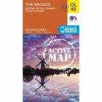 Active Explorer Map OL40 The Broads