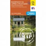 Active Explorer Map OL56 Badenoch and Upper Strathspay