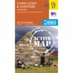 Active Explorer Map OL57 Cairn Gorm and Aviemore