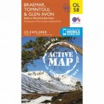 Active Explorer Map OL58 Braemar, Tomintoul and Glen Avon