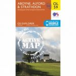 Active Explorer Map OL59 Aboyne, Alford and Strathdon