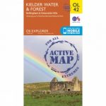 Active Explorer Map OL42 Kielder Water and Forest
