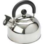 Stainless Steel Kettle with Folding Handle 1.6L