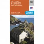 Explorer Map 107 St Austell and Liskeard
