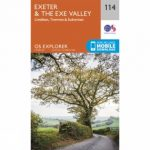Explorer Map 114 Exeter and The Exe Valley