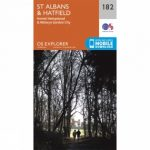 Explorer Map 182 St Albans and Hatfield