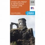 Explorer Map 258 Stoke-on-Trent and Newcastle-under-Lyme