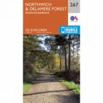 Explorer Map 267 Northwich and Delamere Forest