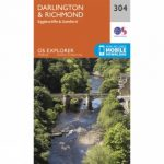 Explorer Map 304 Darlington and Richmond
