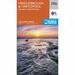 Explorer Map 306 Middlesbrough and Hartlepool