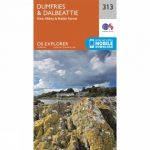 Explorer Map 313 Dumfries and Dalbeattie