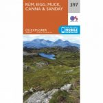 Explorer Map 397 Rum, Eigg, Muck, Canna and Sanday