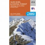 Explorer Map 414 Glen Shiel and Kintail Forest