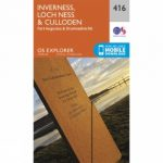 Explorer Map 416 Inverness, Loch Ness and Culloden