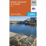 Explorer Map 426 Banff, Macduff and Turriff