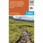 Explorer Map 448 Strath Naver and Loch Loyal