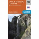 Explorer Map 450 Wick and The Flow Country