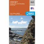 Explorer Map 465 Orkney – Sanday, Eday, North Ronaldsay and Stronsay