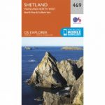 Explorer Map 469 Shetland – Mainland North West