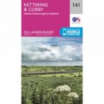 Landranger Map 141 Kettering and Corby