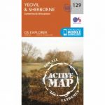 Active Explorer Map 129 Yeovil and Sherborne