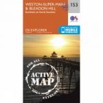 Active Explorer Map 153 Weston-super-Mare and Bleadon Hill