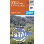 Active Explorer Map 159 Reading, Wokingham and Pangbourne