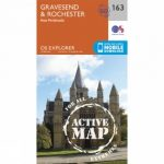 Active Explorer Map 163 Gravesend and Rochester