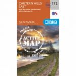 Active Explorer Map 172 Chiltern Hills East