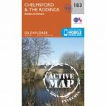 Active Explorer Map 183 Chelmsford and The Rodings