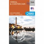 Active Explorer Map 266 Wirral and Chester