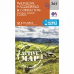 Active Explorer Map 268 Wilmslow, Macclesfield and Congleton