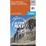 Active Explorer Map 317 Ballantrae, Barr and Barrhill