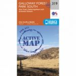 Active Explorer Map 319 Galloway Forest Park South