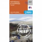 Active Explorer Map 321 Nithsdale and Dumfries