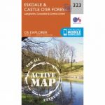 Active Explorer Map 323 Eskdale and Castle O'er Forest
