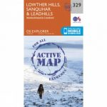 Active Explorer Map 329 Lowther Hills, Sanquhar and Leadhills