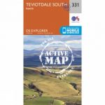 Active Explorer Map 331 Teviotdale South