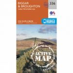 Active Explorer Map 336 Biggar and Broughton
