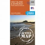 Active Explorer Map 340 Holy Island and Bamburgh