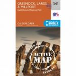 Active Explorer Map 341 Greenock, Largs and Millport